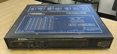 National Instruments MID-7604/7602 4/2 Axis Stepper Motor Drive 188318F-01