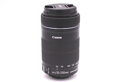 Canon EF-S 55-250mm f/4-5.6 IS STM Zoom Lens for Canon DSLR Cameras