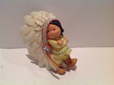 Enesco Friends of the Feather Little Big for Britches Figurine