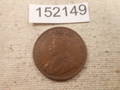 1915 Canada Large Cent - Raw - Very Nice Collector Grade Album Coin - # 152149