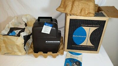 "BELL & HOWELL 346A Super Eight (8) projector, ""MINT"" IN BOX w/instructions."