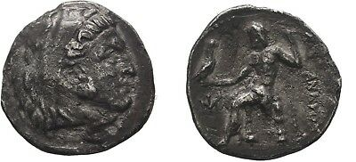 Ancient Greece 336-323 BC Silver ALEXANDER Great DRACHM MILETOS HERAKLES