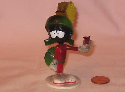 Marvin The Martian Holding The Remnants Of An Exploded Firecracker PVC Figure