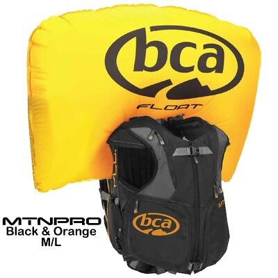 BCA Float MtnPro Vest Mountain Avalanche Airbag Backpack & Cylinder M/L 7639-891