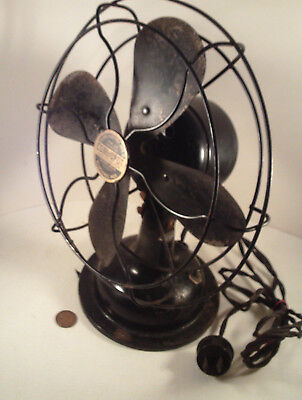 "Original 1930's-vintage Antique (Metal) ""Signal #214 ~ COOL SPOT"" (9"") FAN!"