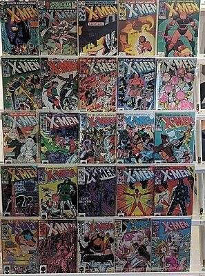 Copper Age X-Men Comics Huge 25 Comic Book Collection Lot Set Run Books Box 1