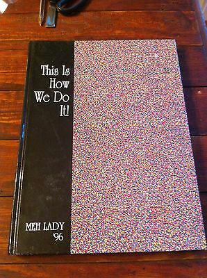 1996 Mississippi University For Women MUW Meh Lady Yearbook