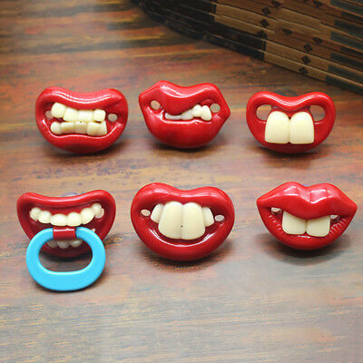 Funny Baby Pacifier Dummy Nipple Teethers Toddler Pacy Orthodontic Tool Fashion