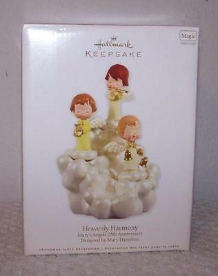 2012 Hallmark Table Decoration - Mary's Angels Heavenly Harmony - Features Sound