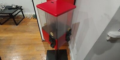 Red Rotatable 4 Head Candy Machine