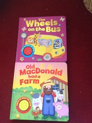 Board Books With Sounds. Wheels On The Bus, Old Macdonald Had A Farm
