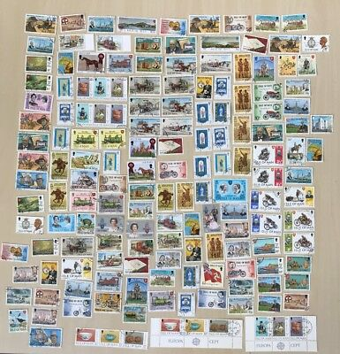 Great Selection of Used Isle Of Man Stamps