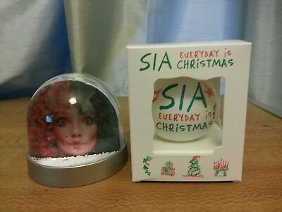 Sia -  Everyday Is Christmas (PROMO ONLY SNOWGLOBE AND BAUBLE SET - RARE).£15.95