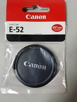 genuine Canon E-52 lens cap brand new UK