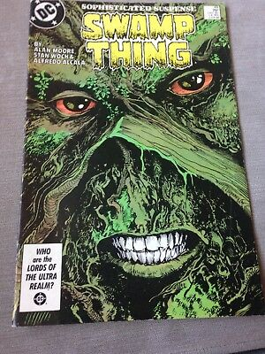 dc comics swamp Thing Issue 49 June 86