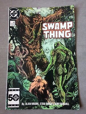 dc comics Swamp Thing Issue 47-april 86