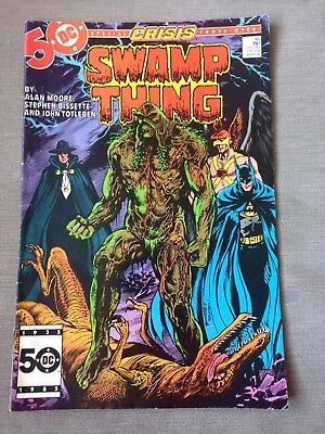 dc comics Swamp Thing Issue 46-march 86