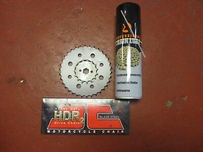 Honda Msx 125 Grom Hd Jt Chain And Sprocket + Lube Set Kit Upgraded 428