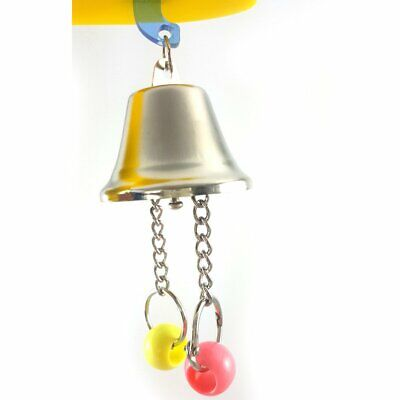 Parrot Bell Toys Birds Chewing Hanging Cage Bite Accessories Parakeet Bead