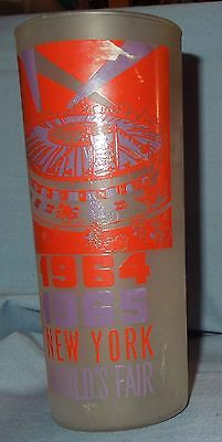 1964 - 1965 New York World's Fair Drinking Glass Featuring World's Fair Circus