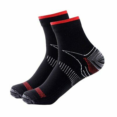 Foot Plantar Fasciitis Compression Socks Heel Arch Pain Relief Support Splint
