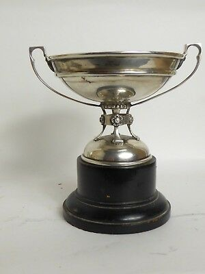 Antique  Solid Silver  Small Sporting Trophy Cup #71 Grams  Of Silver