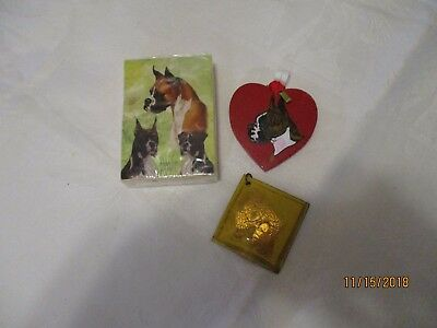 Collectible Boxer Dog playing cards new