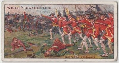 1745 Battle Of Culloden Jacobite Inverness Scotland 100+ Y/O Ad Trade Card
