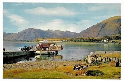 Picture Postcard:-Corran Ferry, Loch Linnhe, Inverness-Shire
