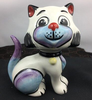 Lovely Rare Lorna Bailey Signed Queenie Cat Figurine Made In England SU178