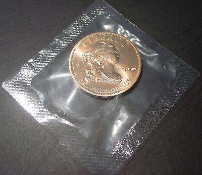 2007 Thomas Jefferson Liberty First Spouse Bronze Medal from United States Mint
