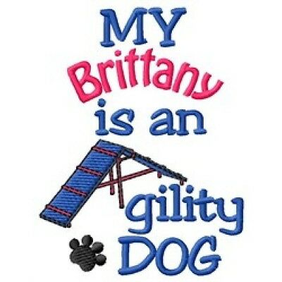 My Brittany is An Agility Dog Fleece Jacket - DC1880L Size S - XXL