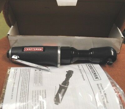 Craftsman 3/8 in. Air Ratchet Wrench Tool Garage Tools Auto Repair Workshop NEW