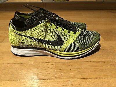 release date 71ad1 2dc45 Nike Flyknit Racer 'First Edition  Neon EUR 47,5 US 13