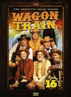 Wagon Train: The Complete Color Season DVD, 2008, 16-Disc Set WESTERNS