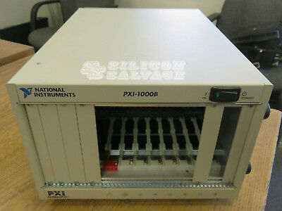 National Instruments NI 8-Slot PXI Chassis PXI-1000B