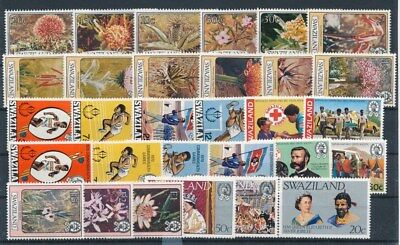 [G70705] Swaziland good lot Very Fine MNH stamps