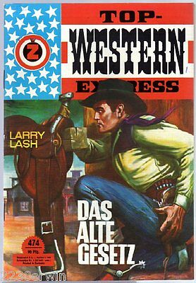 TOP WESTERN EXPRESS 474 / Larry Lash (1962-1975 Indra-Verlag)
