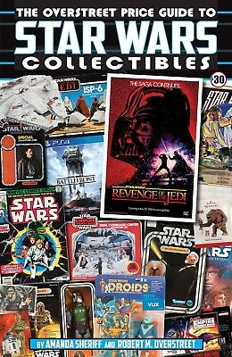 OVERSTREET PRICE GUIDE TO STAR WARS COLLECTIBLS SC TPB Star Wars Reference TP