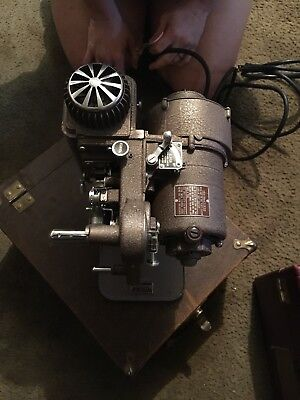 Revere Eight Projector Vintage Regular 8 Film Home Movies Works 8mm