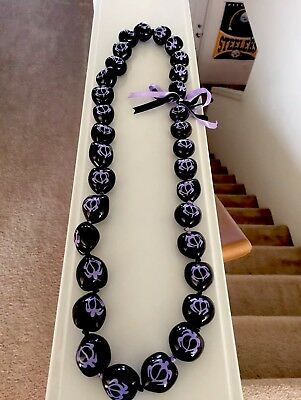 Kukui Nut Lei, Purple Honu (Turtle), Hawaiian Wedding, Graduation, Birthdays