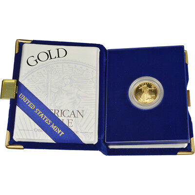 1994-W American Gold Eagle Proof (1/4 oz) $10 in OGP