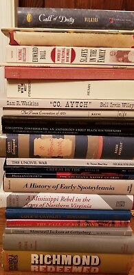 Lot of 21 Civil War Books HB & PB Books - Some Collectible!
