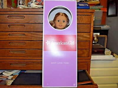 """American Girl JUST LIKE YOU DOLL NEW In Box w/ Book Blonde 18"""" Toy"""