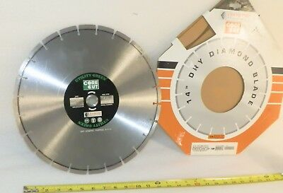 """New Concrete? Demolition Saw Blade Sectioned Diamond Tip 9/"""" Unbranded 23cm"""
