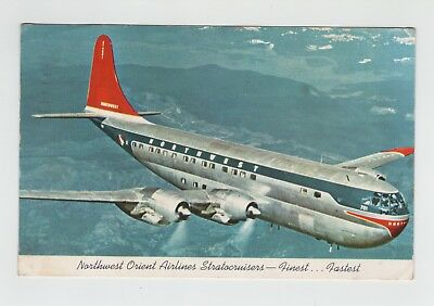 CPA avion Boeing Northwest Orient Airlines Stratocruisers 1956 PF 16-A-53