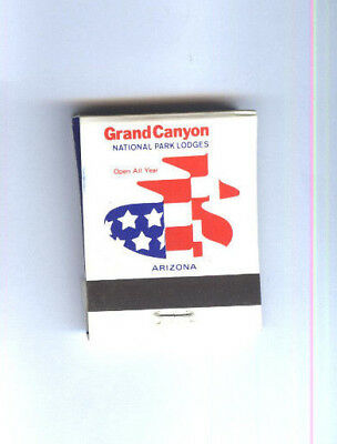 Matchbook GRAND CANYON National Park Lodges Arizona USA Streichhölzer