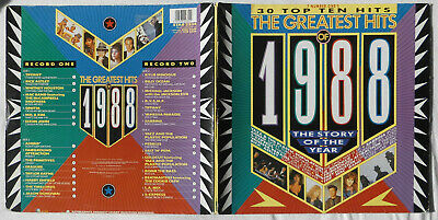 The Greatest Hits Of 1988 2Lp: Kylie Tiffany Erasure Ocean Sabrina Dayne Jackson