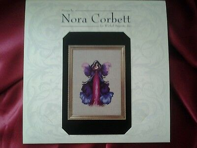 "Nora Corbett ""Monkshood"" Poison Pixie Collection Cross Stitch Chart"