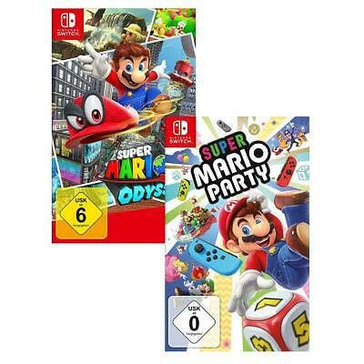 Super Mario Odyssey + Super Mario Party Nintendo Switch NEU&OVP